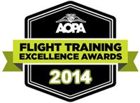 AOPA Excellence Award 2014